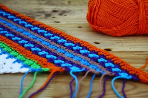 Nordic shawl WIP