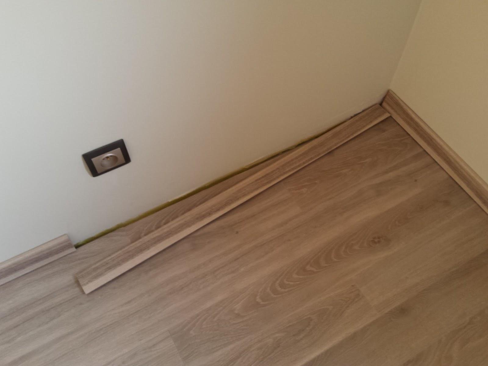 Laminaat afwerken zonder plint