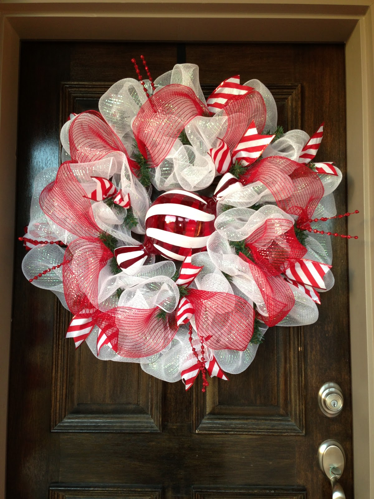Kristen 39 S Creations Your Beautiful Mesh Wreaths