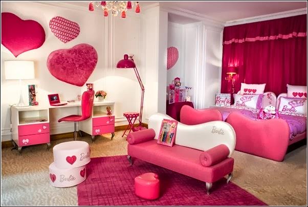 DECO CHAMBRE INTERIEUR: Décoration chambre d\'enfant avec des cœurs !