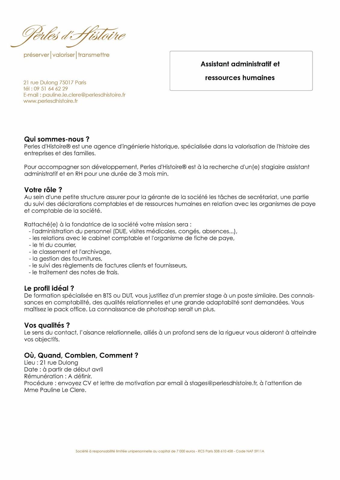 Offre de stage cabinet comptable - Cabinet comptable recrutement alternance ...