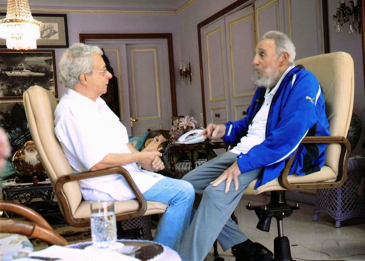 Frei Betto e Fidel Castro: os veteranos líderes revolucionários olham para o Papa Francisco