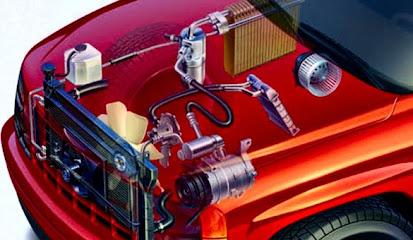 Komponen Sirkulasi AC Mobil