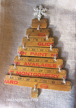 Yardstick Christmas Tree