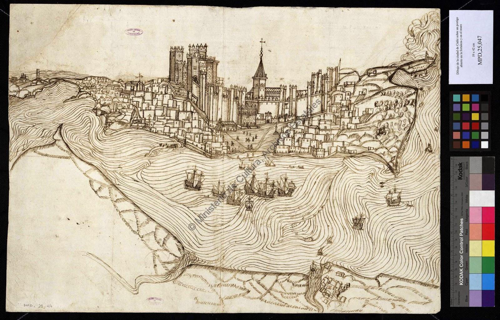 Fortificaciones baluartes y planos de Cdiz y sus municipios