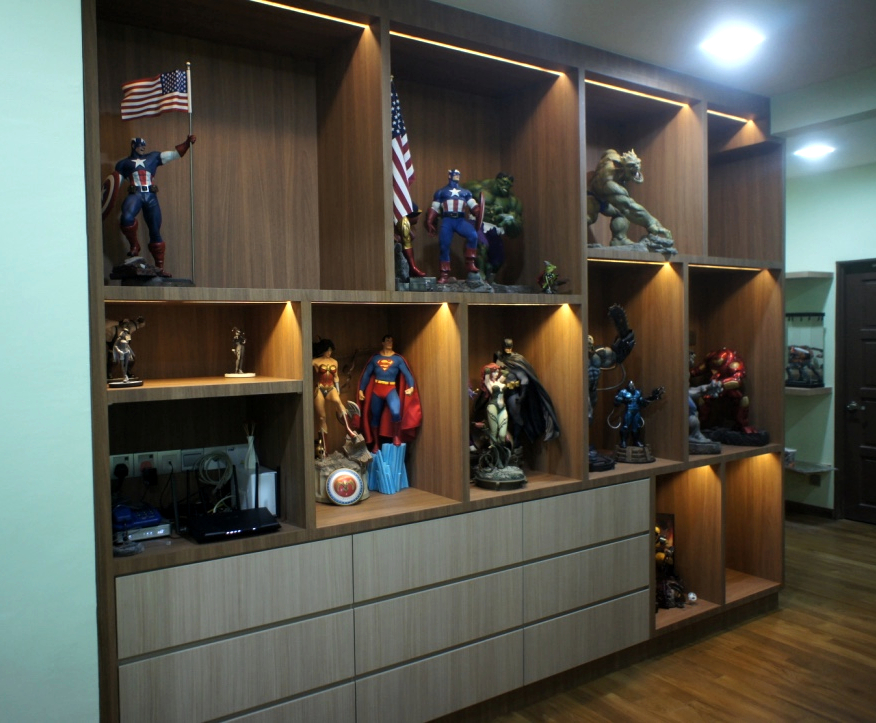 Beau Awesome Furniture Design Project For Awesome Action Figures Collector In  Subang Jaya
