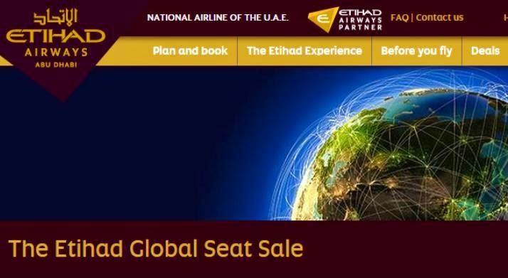 Etihad Airways阿提哈德航空限時環球優惠,【歐洲/南美】航線$4,343起(連稅),12月前出發。
