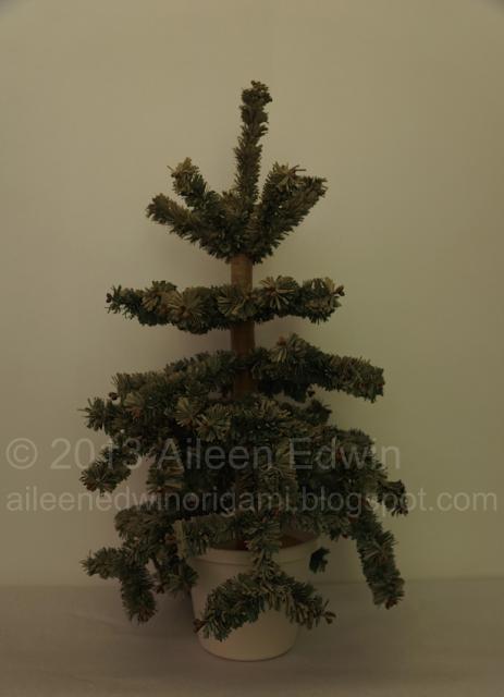 Handmade Paper Christmas Tree