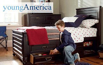 Exceptional Made In The USA U2013 Young America Childrenu0027s Furniture