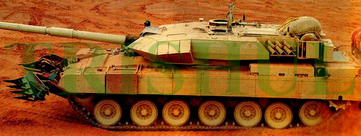0f81bb4f4680 TRISHUL  Orders Placed For Arjun Mk1A MBT s Vectronics Suite