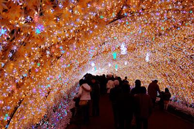 tokyo, christmas, lights