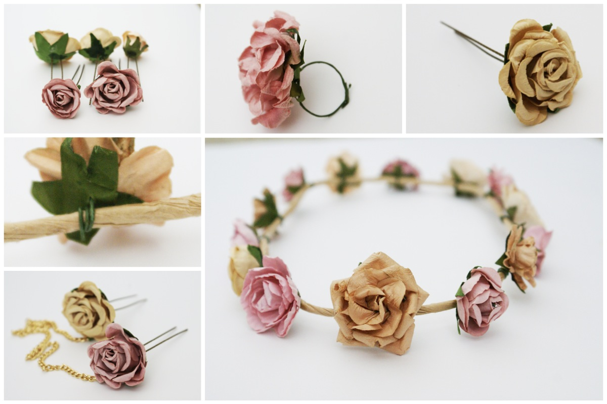 Eat The Catwalk DIY Crown of Flowers