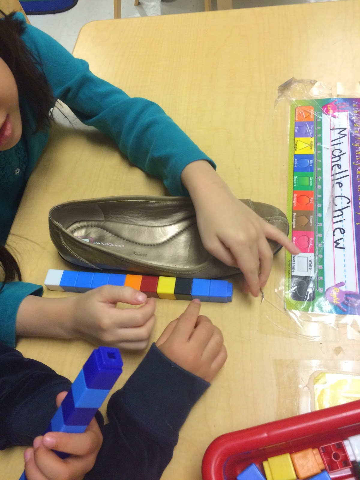 This Week We Have Begun To Explore Measurement Concepts We Are Learning  About Non Standard Units Of Measure  Using Cubes And Other Objects To  Measure And