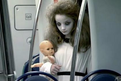 Mengerikan, Ada Hantu di Kereta Bawah Tanah Ini