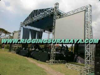 jual panggung rigging konser komplit siap live concert