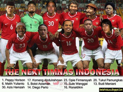 foto lucu The Next Timnas Indonesia