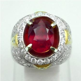 Batu permata Merah Delima, Garansi Batu Mulia Asli Natural, harga