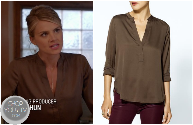Where Can I Buy A Brown Blouse 109