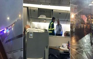 ΤΟ ΜΥΣΤΗΡΙΟ ΤΗΣ ΠΤΗΣΗΣ ΤΟΥ ΤΡΟΜΟΥ: Λιποθυμούσαν ο ένας μετά τον άλλον οι επιβάτες και οι αεροδυνοδοί