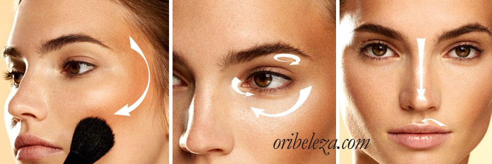 Pó Bronzeador Illuskin The ONE da Oriflame - Aplicação