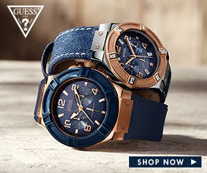 Check out the latest GUESS Blue collection!
