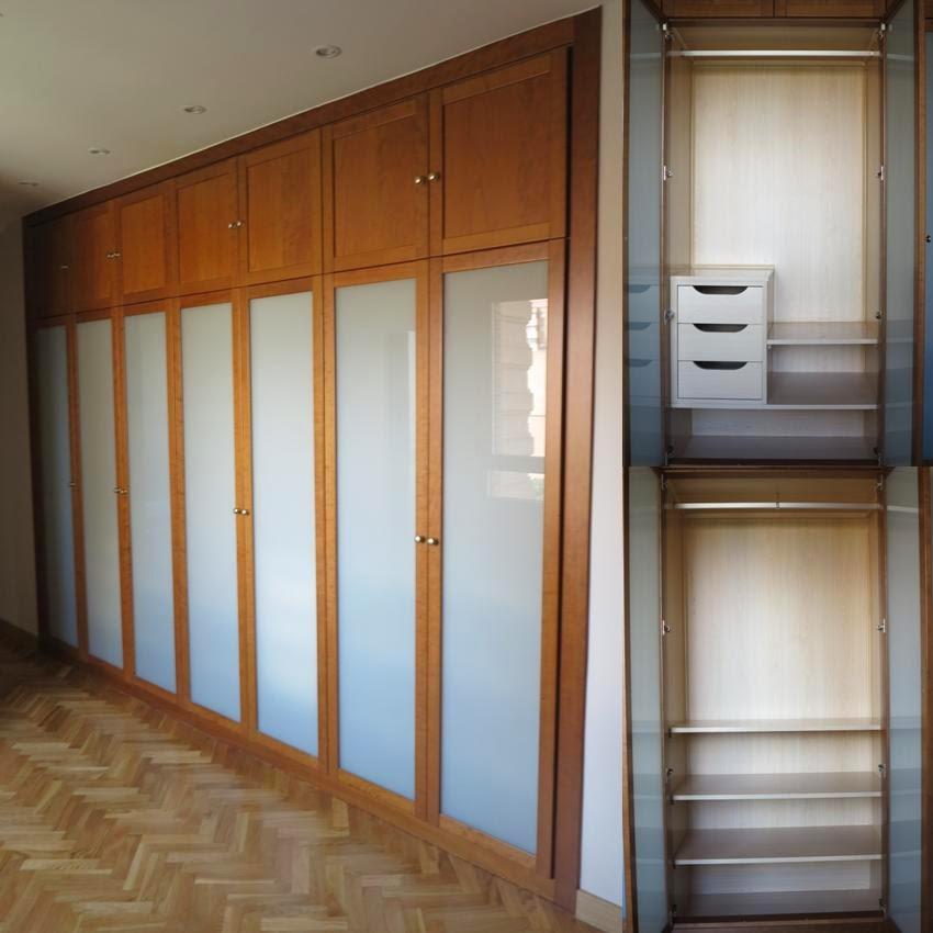 Faber mobiliario: Frente de armario cristal 3+3 enmarcado con ...