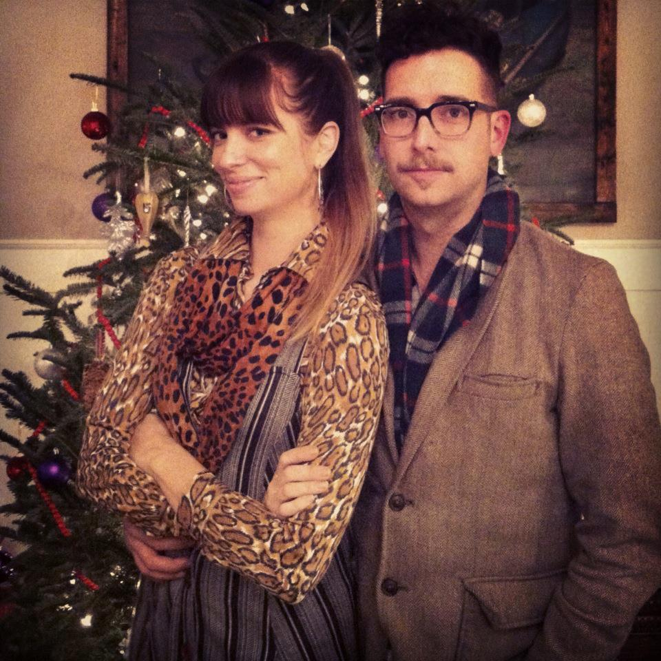 Amanda And Will Holland In Nashville For Christmas 2012