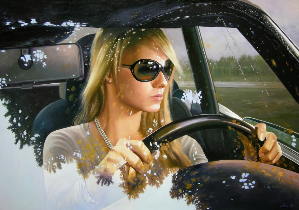 06-Francesco-Capello-Hyper-realistic-Drivers-Paintings-www-designstack-co