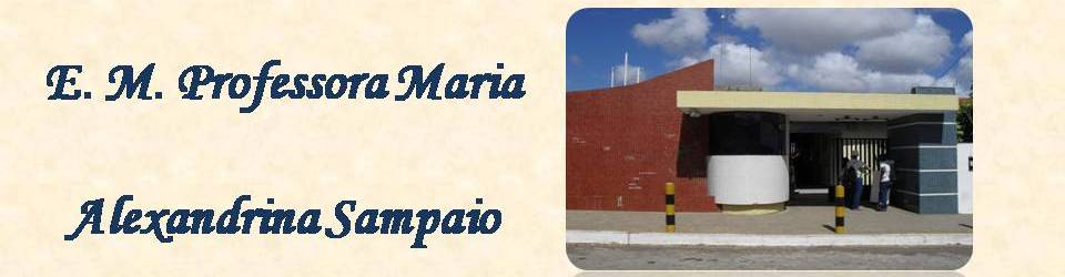 Maria Alexandrina Sampaio