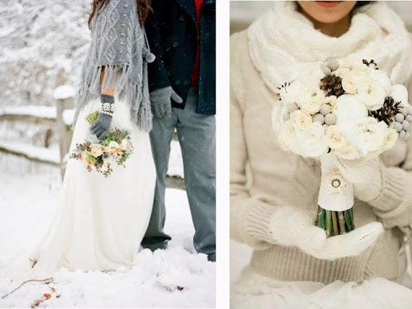3 accesorios para una boda de invierno original