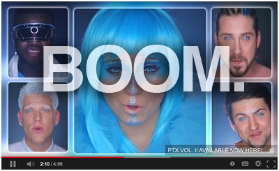 Pentatonix' Daft Punk Video: Low Budget Meets Awesome Creativity