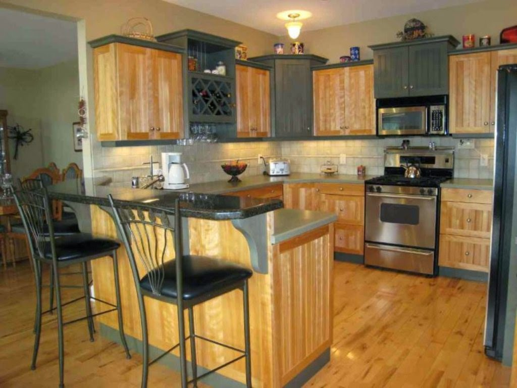 Backsplash Ideas For Maple Cabinets Part - 37: A Kitchen Becomes Even More Special When All The Kitchen Equipment, Are  Available By The Complete. The Beauty Of Kitchen Increasingly Emitted When  ...