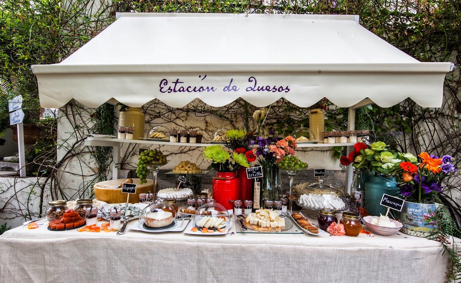 Una boda convencional pero diferente una boda de - Mesa de quesos para bodas ...