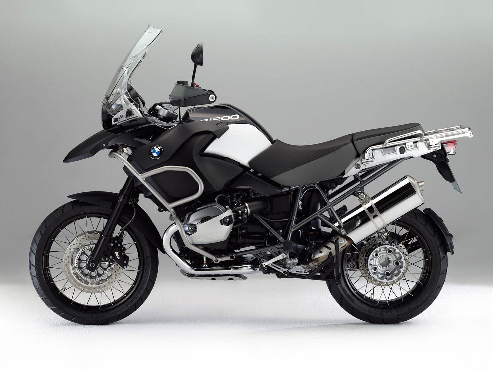 2012 BMW R1200GS Adventure Triple Black Wallpapers