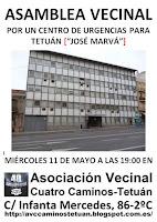 Asamblea Vecinal: Por un Centro de Urgencias para Tetuán
