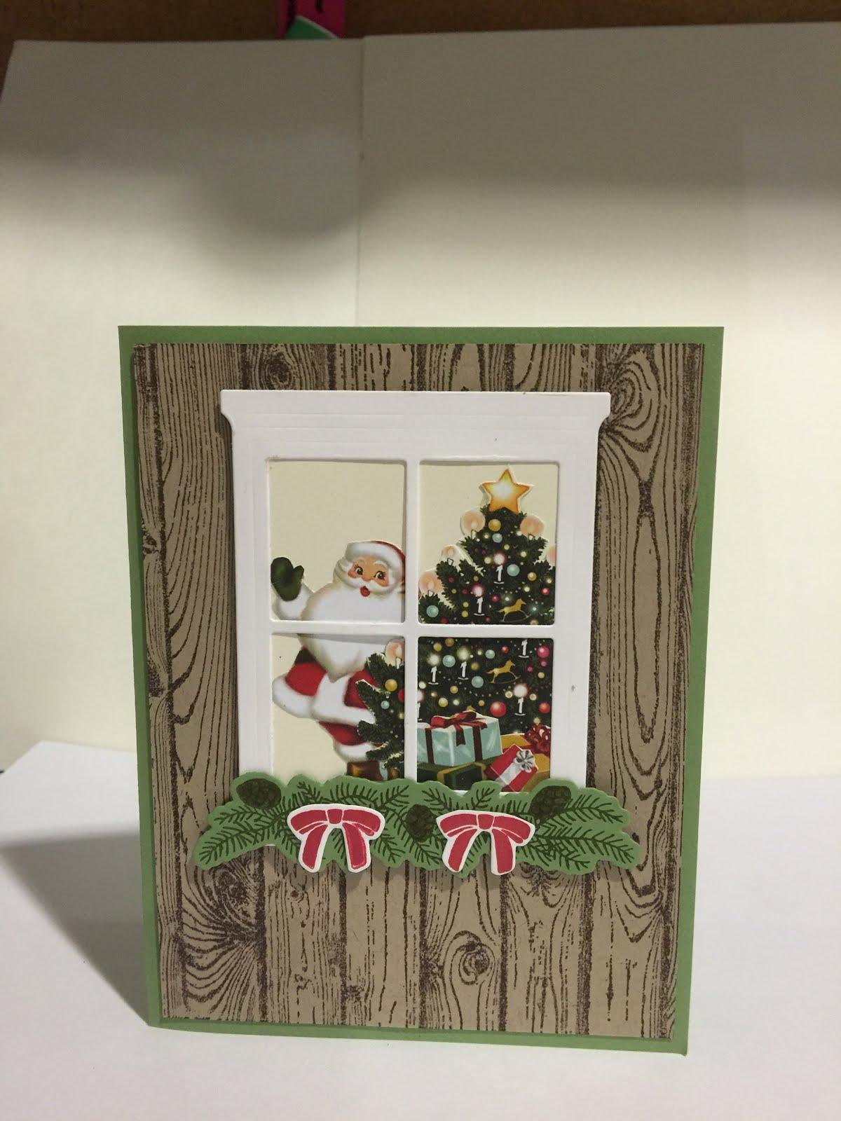 Hello Santa Card
