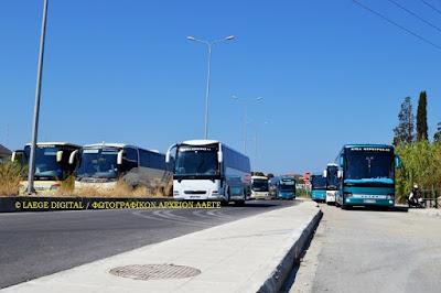 Διευκόλυνση επιβατικού κοινού για την μετακίνηση του από τις νέες εγκαταστάσεις του ΚΤΕ