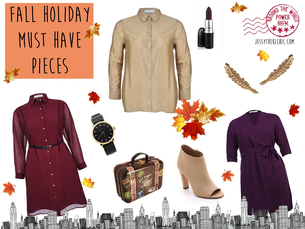 Fashion: 3 Must Have Fall Holiday 2015 Pieces