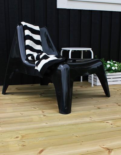 1000 ideas about fauteuil noir on pinterest canap 3 2 armchairs and faut - Fauteuil cuir noir ikea ...