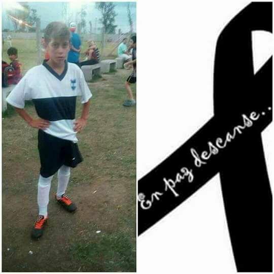Matias Nunca Te Olvidaresmos !! Nuestros sentidos pesames a la familia y compañeritos !!