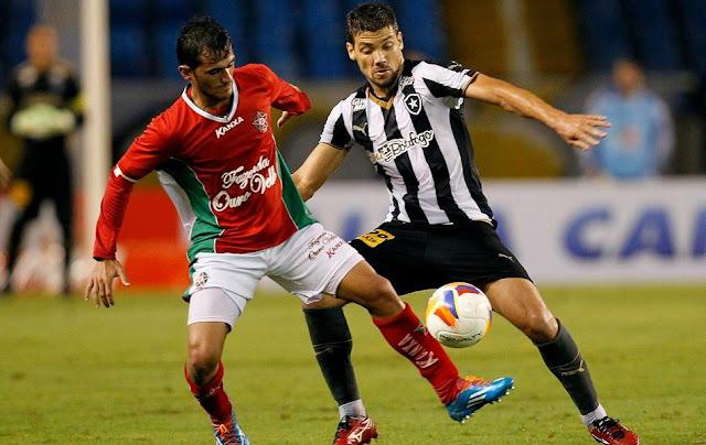 No 1º turno, times empataram por 1 a 1 no Engenhão (Foto: Cris Dissat/Boa Esporte)
