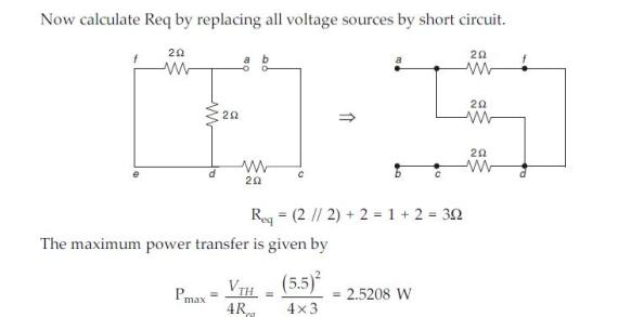 maximum power transfer Suppose a 12 volt lead-acid battery has an internal resistance of 20 milli-ohms (20 m ): if a short-circuit were placed across the terminals of this large battery, the fault current would be quite large: 600 amps now suppose three of these batteries were connected directly in parallel with one.