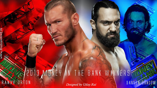 Download Money In The Bank 2013 All-Stars Match Winners HQ Wallpaper (Designed By Uday Rai via iPOST), damien sandow wallpaper 2013 money in the bank, randy orton 2013 wallpaper