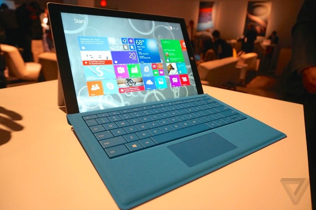 Nueva Surface Pro 3 ¿sustituirá una laptop ?