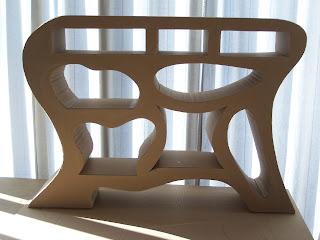 Multi artis fabrication d 39 un meuble en carton et papier m ch - Meuble en papier mache ...