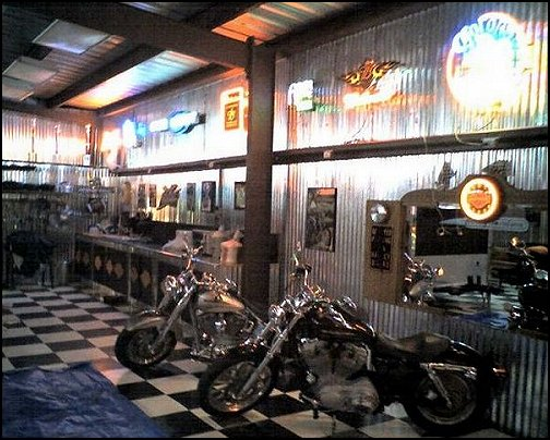 garage decorating ideas harley davidson man cave garage decorating