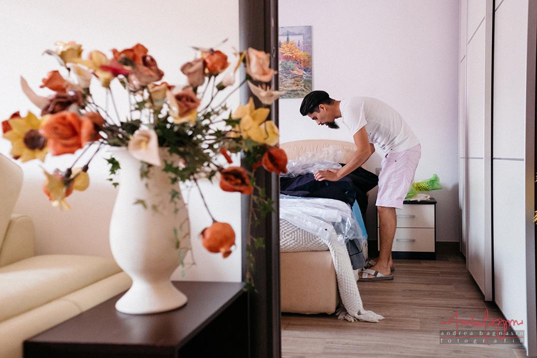 fotografo matrimonio savona preparazione sposo
