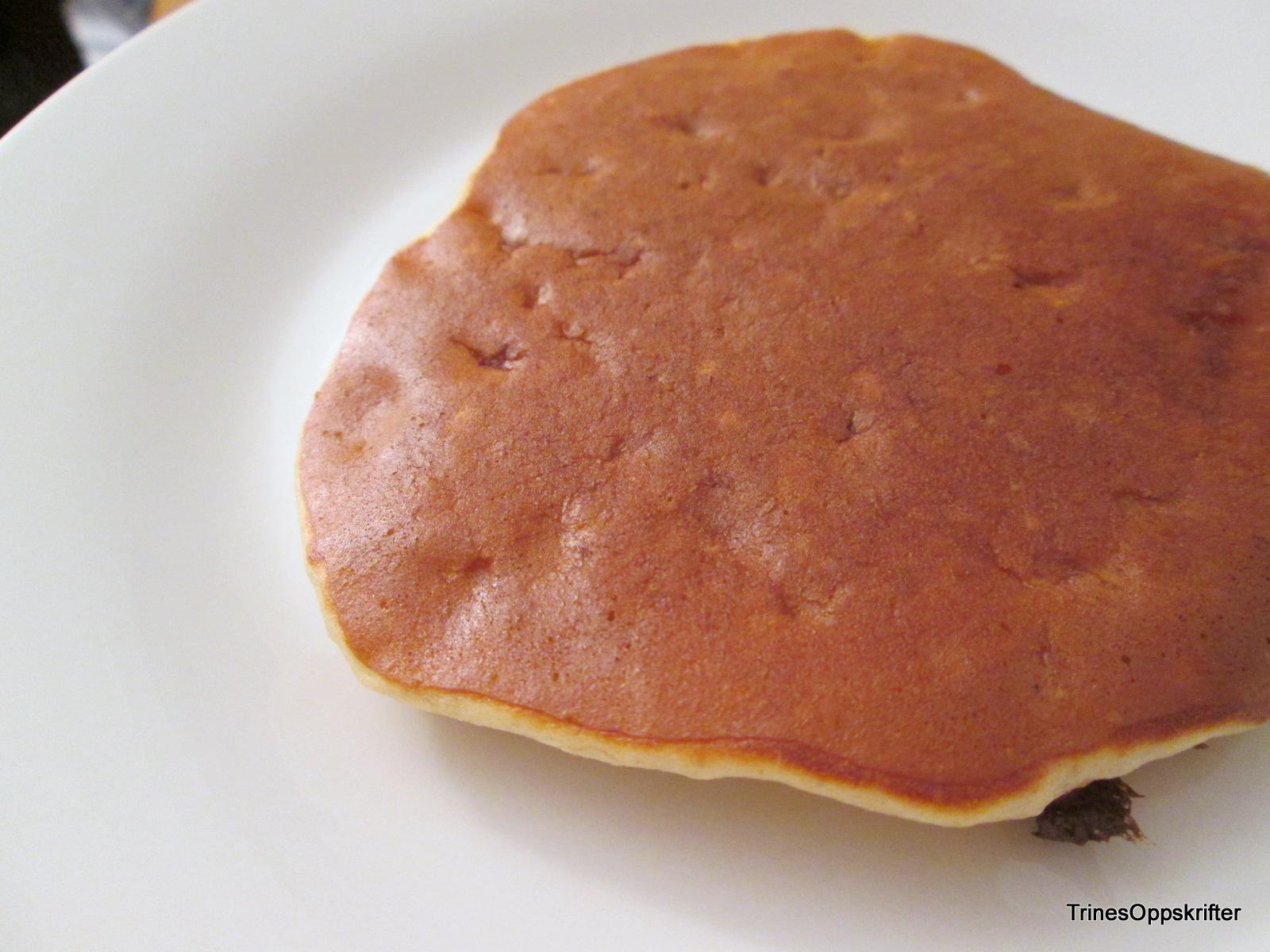 pannekaker oppskrift med havregryn