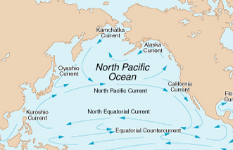 pacific ocean currents map  Quick Alternate Histories: A Post-...