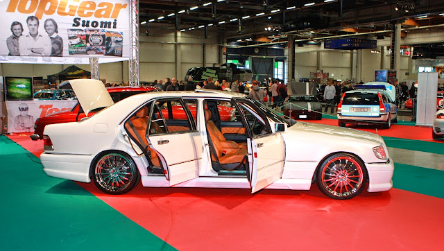 mercedes w140 wald custom